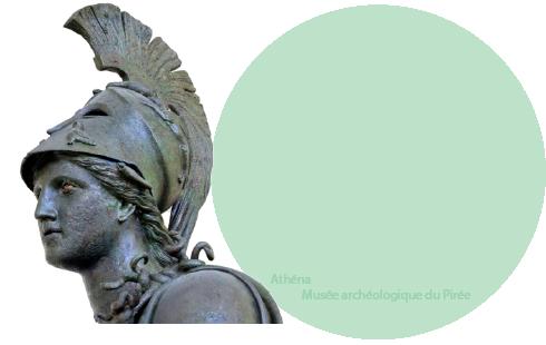 La déesse grecque Athéna - Musée archéologique du Pirée